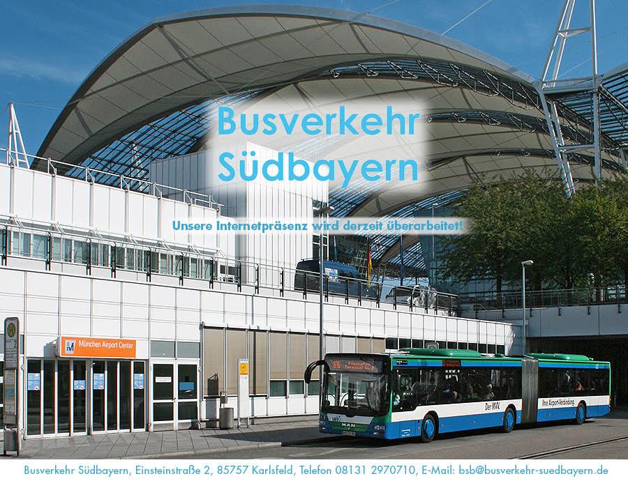 busverkehr südbayern - bald wieder für Sie da